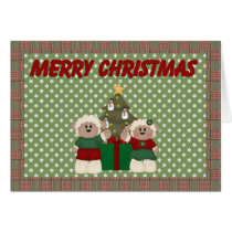 Merry Christmas (sheep) Card