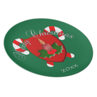 Merry Christmas Shield Plate Template