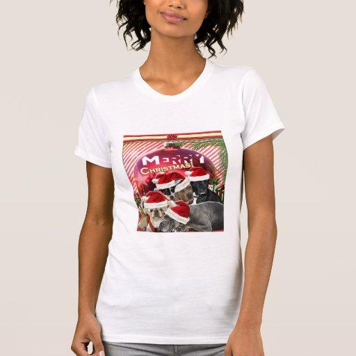 Merry Christmas Shirt (Dog Edition)