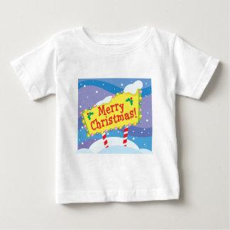 Merry Christmas Sign Tee Shirt