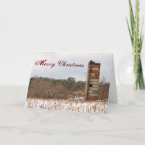 Merry Christmas Silo Holiday Card