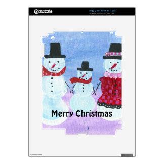Merry Christmas iPad 2 Decal