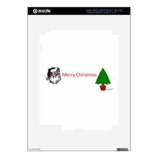 merry christmas skins for iPad 3