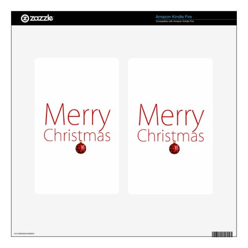 Merry Christmas! Skins For Kindle Fire