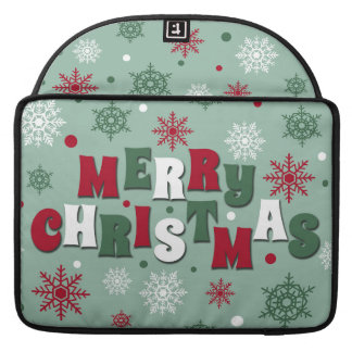Merry Christmas Sleeve For MacBook Pro