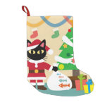 Merry Christmas Small Christmas Stocking at Zazzle