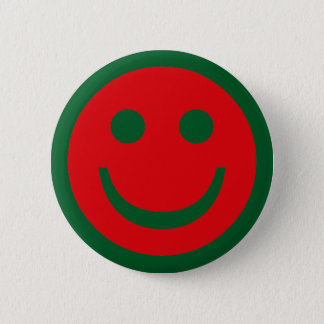 Merry Christmas Smiley Button