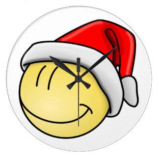 """""""MERRY CHRISTMAS"""" SMILEY FACE SANTA"""