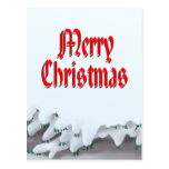MERRY CHRISTMAS SNOW by SHARON SHARPE Post Cards