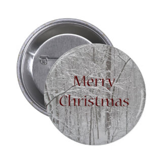 Merry Christmas Snow Storm Coordinating Items Button