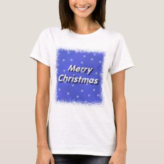 Merry Christmas Snow T-Shirt