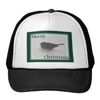 Merry Christmas Snowbird Coordinating Items Mesh Hat