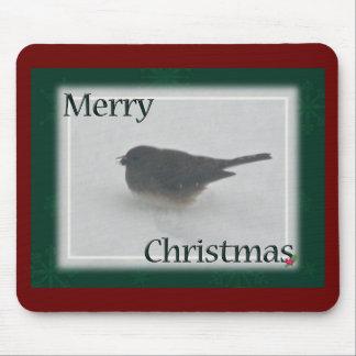 Merry Christmas Snowbird Coordinating Items Mouse Pad