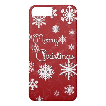 Christmas Themed Merry Christmas Snowflake Phone Case