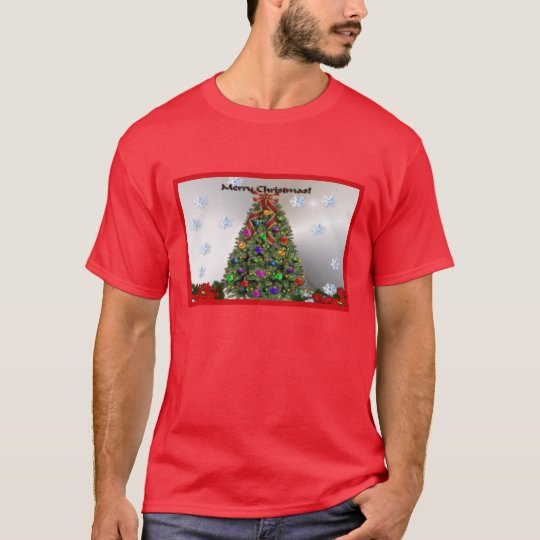Merry Christmas Snowflakes T-Shirt