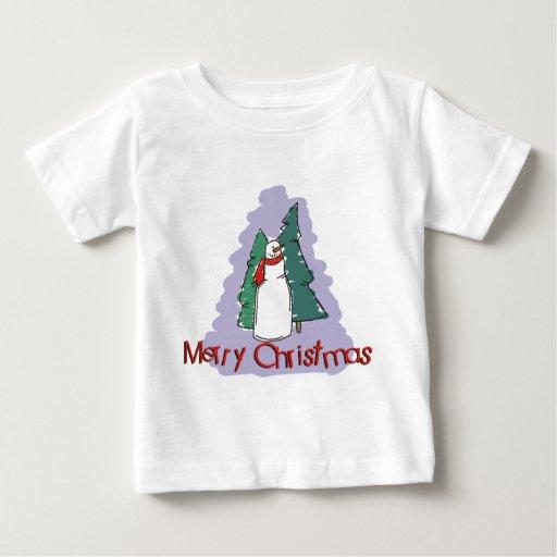 Merry Christmas Snowman Sweatshirt T-Shirt