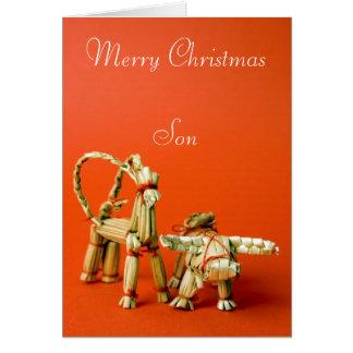 Merry Christmas Son Cards