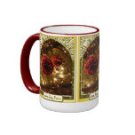 Merry Christmas, sparkly decoration Coffee Mug