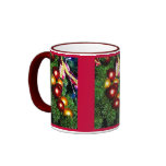 Merry Christmas, sparkly decoration Mugs