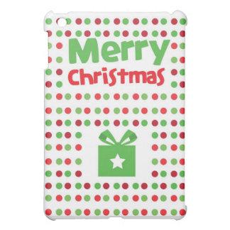 Merry Christmas spotty iPad Mini Covers