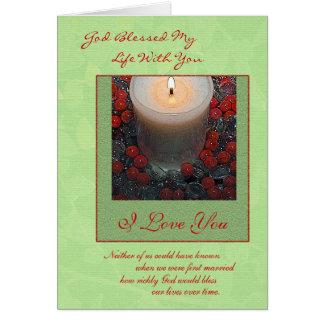 Merry Christmas Spouse Card