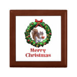 Merry Christmas Squirrel Keepsake Boxes