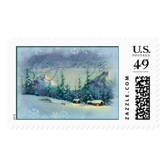 MERRY CHRISTMAS STAMP by SHARON SHARPE