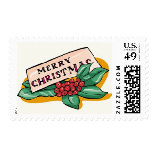 Merry Christmas Stamps (medium size)