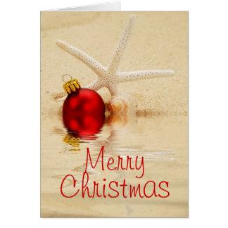 Merry Christmas Starfish Card