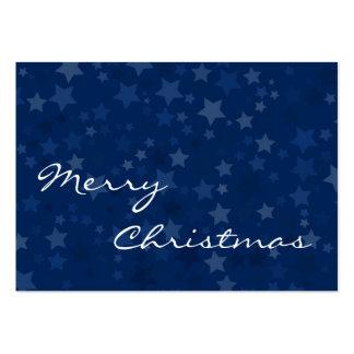 Merry Christmas - Stars -  Business Card