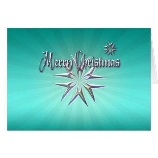 MERRY CHRISTMAS STARS by SHARON SHARPE Card