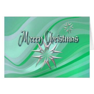 MERRY CHRISTMAS STARS & STRIPES by SHARON SHARPE Card