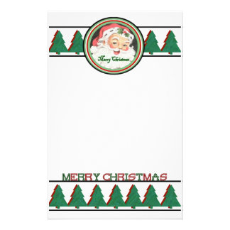 Merry Christmas Stationary Stationery Design