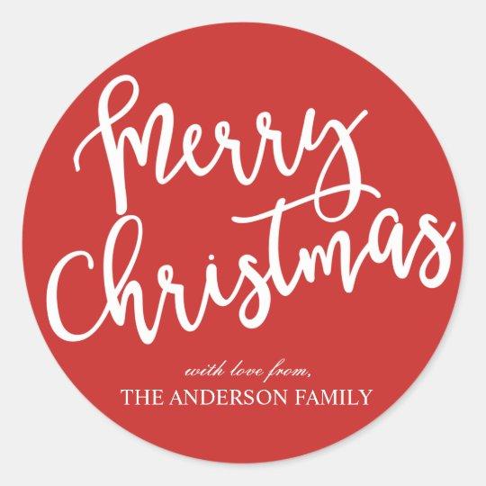 merry christmas stickers holidays