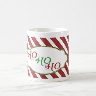 Merry Christmas Stripe ho ho ho mug