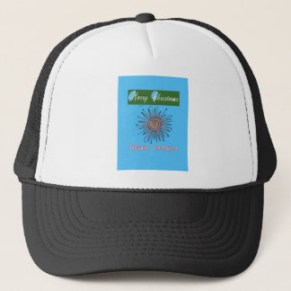 Merry Christmas Sunshine Holiday.png Trucker Hat