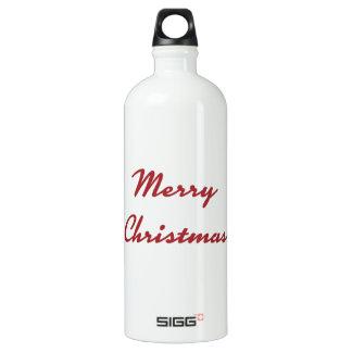 Merry Christmas Sustainable Bottle