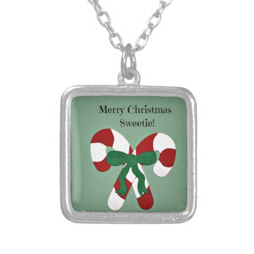 Merry Christmas Sweetie Necklaces
