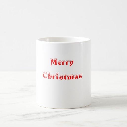 merry christmas taza de café