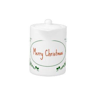 Merry Christmas! Teapot