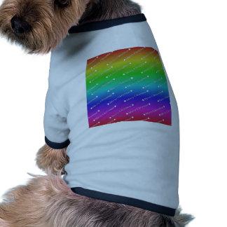 Merry Christmas, Text, rainbow Pet Clothing