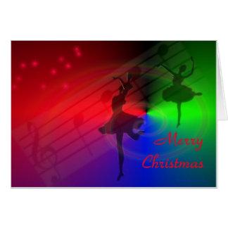 Merry Christmas - The Dance Card