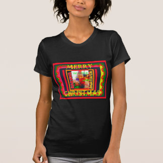 Merry Christmas The world around me is happy to ha T-Shirt