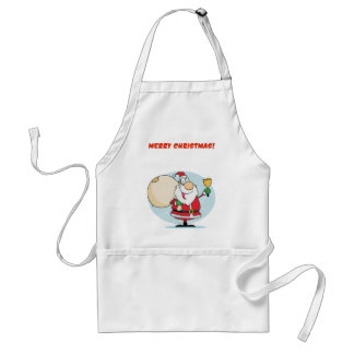 Merry Christmas To All And To All Goodnight Adult Apron