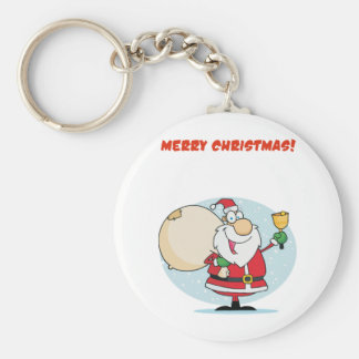 Merry Christmas To All And To All Goodnight Keychain