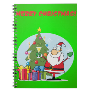 Merry Christmas To All And To All Goodnight Notebook