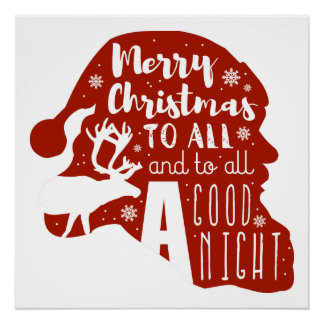 Merry Christmas To All Poster