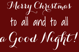 merry christmas to all throw blanket - Merry Christmas To All And To All A Good Night