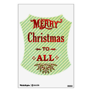 Merry Christmas to All Wall Sticker