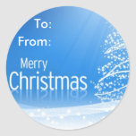 Merry Christmas To, From Sticker
